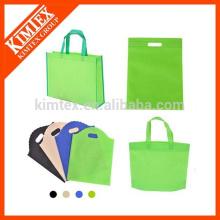 Großhandel benutzerdefinierte recycelten nicht gewebt Einkaufstaschen
