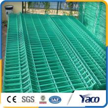 Panneaux de clôture soudés rigides en treillis métallique