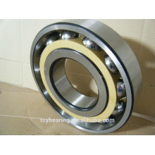 China chrome steel spindle angular contact ball bearing b7206 metal cage