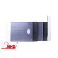 Folha de policarbonato de PC semi-acabado transparente / preto cor