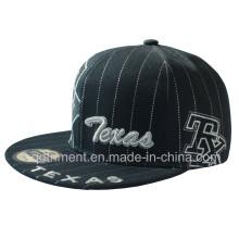 Flat Bill Baseball Snap zurück Sport Cap (TMFL0006-1)