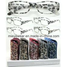 Fashion Plastic Reading Glasses (MRP21658)