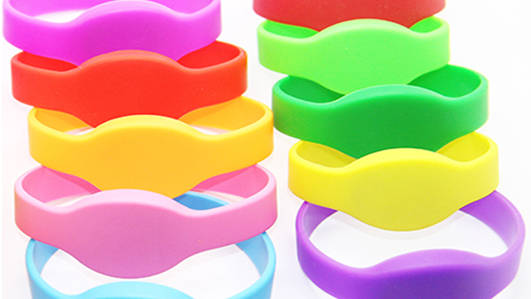 closed type silicone rfid wristband