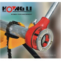 """12R 1/2""""- 2"""" compact ratchet threader kit with 23KG / 6 dies"""