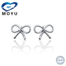 Chine bijoux en gros boucles d'oreille en argent sterling boucles d'oreille en forme de boucles d'oreilles en argent 925 en gros