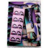 Colored Long Thick False Eyelashes Pack Of 10 Natural Looking Human Hair