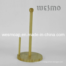Bamboo Paper Towel Roll Holder (WBB0337A)