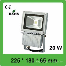 3 years warranty CE&ROHS AC85v-265v waterproof IP66 20W led flood light