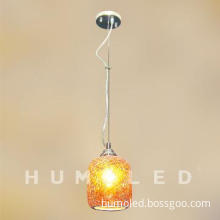 Islamic indoor glass pendant lighting with bulb incandescent