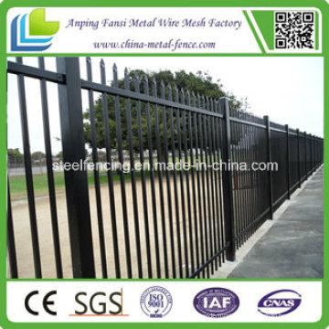 2.1m X2.4m Speer Top Sicherheit Stahl Zaun / Stahl Fechten