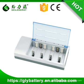 GLE 837 With CE RoHS NIMH/NICD AA AAA Battery Charger