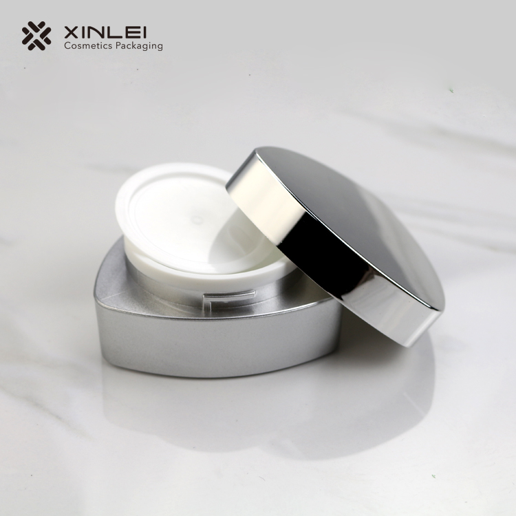 Triangle Acrylic Cosmetic Cream Jar