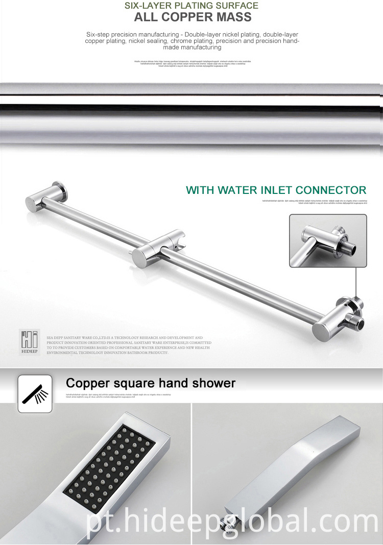 European Shower Faucet