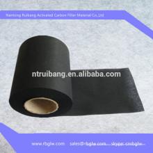 material de eliminación de gas Papel de filtro de carbón activado