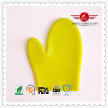 Gants résistants à la chaleur imperméables de micro-onde de silicone de Tricot