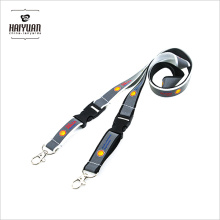 Factory Personalized Screen Printed Reflective Lanyards