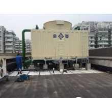 CTI Certified FRP torre de refrigeración de flujo cruzado con alto rendimiento