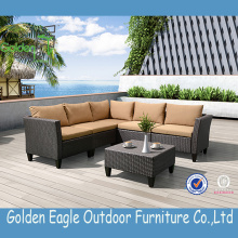 Vente chaude extérieure New Wicker Best Sofa Set