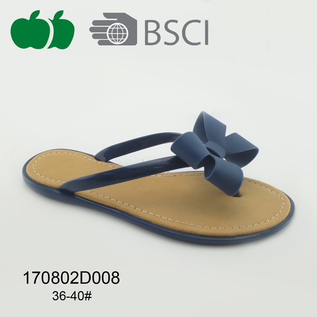 cheap women pvc flip flop