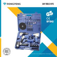 Kits de herramientas de aire Rongpeng RP7843 43PCS