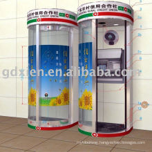 automatic Bank curved door system(ATM)