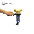 auto flush mesh brass pre filter for wholehouse water filtration system