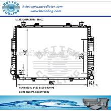 Pièces de radiateur pour Mercedes-benz W140 S420 S500 S600 91 OEM: 1405001403