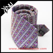 Erstellen Sie Ihre eigene Marke handgemachte Seide Luxus Mens Classic Neck Tie