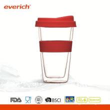 Gobelet en verre à double paroi à thé Everich
