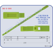 plastic seal BG-S-005 for trucks plastic seal