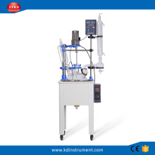 Biotechnology  Lab Single Glass reactor machine