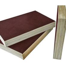 Твердая древесина или ядро тополя 12мм 15мм 18мм Коричневая или черная цветная пленка Столкнутая строительная фанера с оптимальной ценой