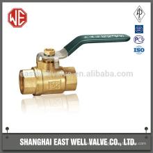 High pressure pneumatic ball valve