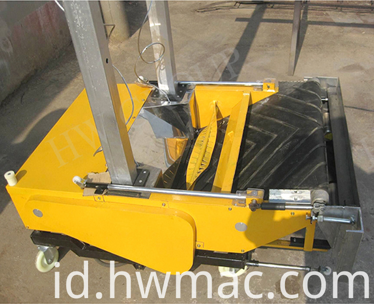 Automatic wall cement plastering machine