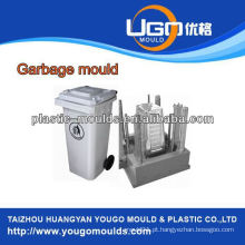 2013 China Mold Moldagem por injeção de plástico Molde de lixo Molde de lixo de publicidade