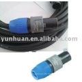 Netzkabel mit Neutrik Stecker Stecker Instrument audio Verwendung Kabel speakon