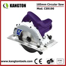 Sierra circular eléctrica de 185 mm 7-1 / 4 pulgadas para cortar madera