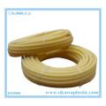 Yellow PVC Corrugated Hose by Flame Retardant