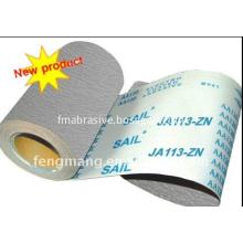 Soft Wood Polishing Aluminum Oxide Abrasive Cloth