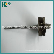 Eje de turbina para K04 5304-970-0007 Turbocompresor