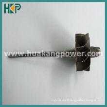 Arbre à turbine pour K04 5304-970-0007 Turbocompresseur
