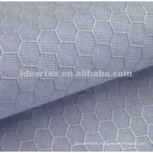 100% Polyester hexagonal grid Taslan for Sportswear