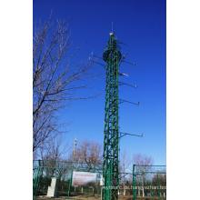 Einzelner Stahlturm