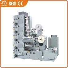 Клей этикеточной бумаги Флексографическая печатная машина (AC320-4Б)