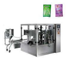 Automatic Liquid Pouch Yogurt Milk Water Juice Beverage Fruit Cooking Oil Detergent Packaging Machine