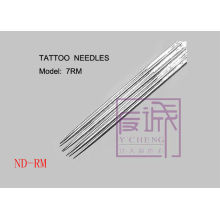 50 Pack Pre-made Sterile Tattoo Needles On Bar/curve tattoo needles