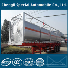 Líquido químico do transporte e recipiente químico do tanque do ISO do combustível 20feet