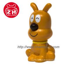 Brown Dog Animal Plastic Finger Toy