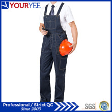 Customized Work Bib Overalls Jeans Workwear Bib and Brace (YBD110)