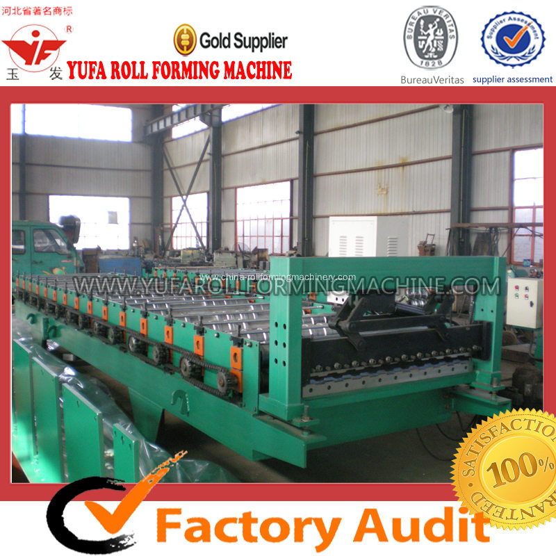 Roof Panel Metal Color Steel Making Machine
